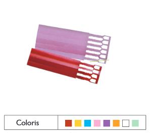 Étiquettes PVC 7D à crans