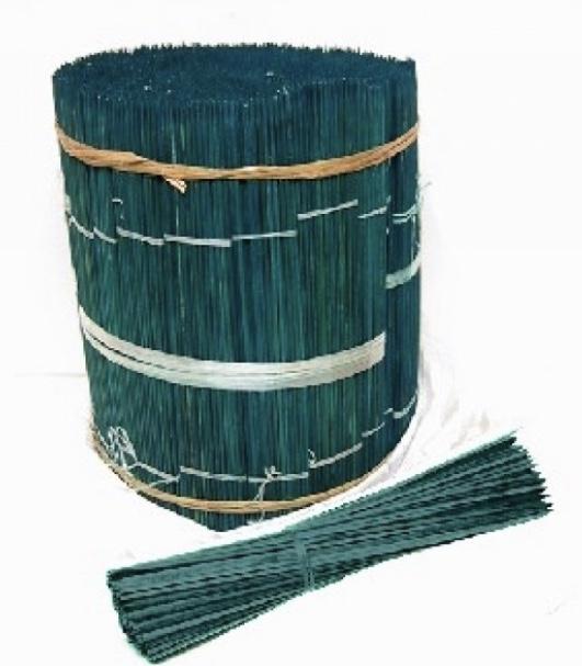 Tuteur Bambou Refendu Coloris Vert