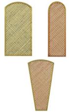 Treillis diagonal arc Lila cadre 44/44 maille 20/20 mm